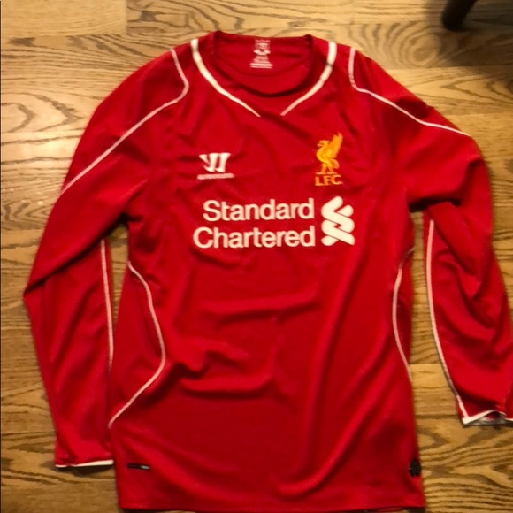 hot sale online ff639 14650 Authentic Liverpool 2014-15 home jersey
